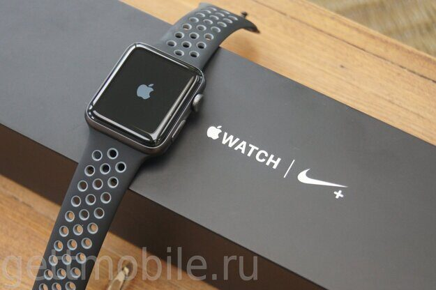 часы Apple Watch 3 38mm nike+ уц/т